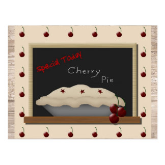 Cherry Pie Recipe Cards