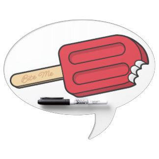 Cherry Popsicle Bite Me Dry Erase Board