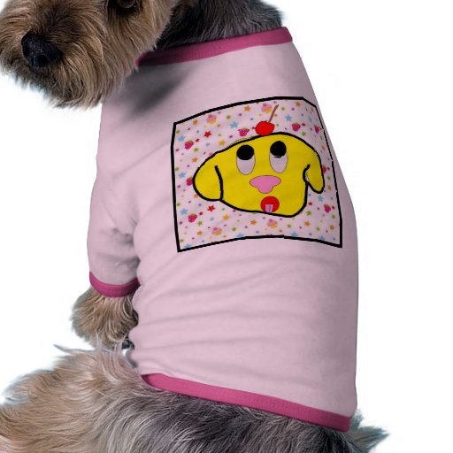 Cherry Puppy Doggie Tee