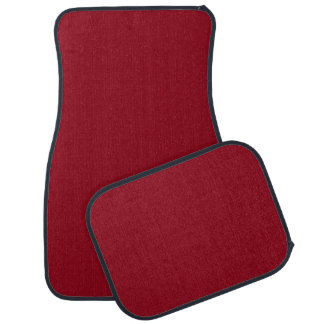 CHERRY RED (a solid fruity color) ~~ Car Mat