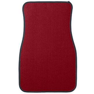 CHERRY RED (a solid fruity color) ~~ Floor Mat