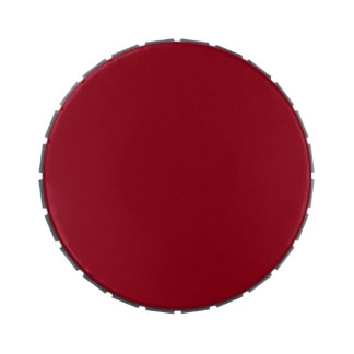 CHERRY RED (a solid fruity color) ~~ Jelly Belly Tins