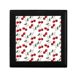 Cherry Red Pattern Gift Box