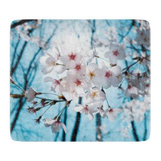 Cherry Sakura Blossom Cutting Board