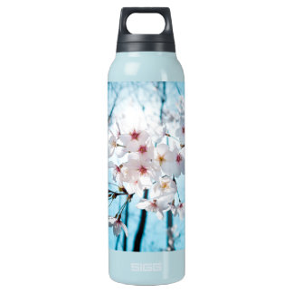 Cherry Sakura Blossom Insulated Water Bottle