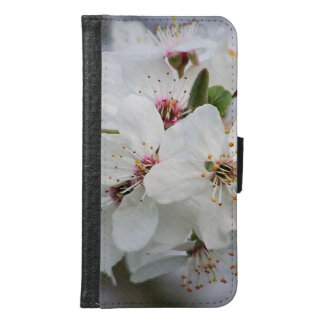 Cherry Sakura Blossom Samsung Galaxy S6 Wallet Case