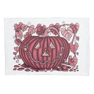 Cherry Spidery Pumpkin Pillowcase
