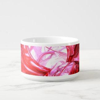 Cherry Splash Abstract Small Soup Mug