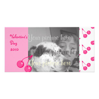 Cherry Sweet-Hearts! Photo Card