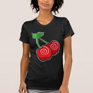 Cherry Swirl T-shirts