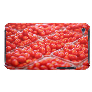 Cherry tomatoes at a market stall barely there iPod cases