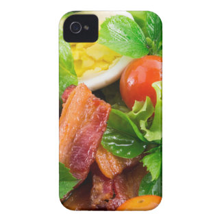 Cherry tomatoes, herbs, olive oil, eggs and bacon Case-Mate iPhone 4 case