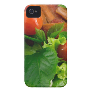 Cherry tomatoes, herbs, olive oil, eggs and bacon Case-Mate iPhone 4 cases