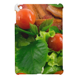 Cherry tomatoes, herbs, olive oil, eggs and bacon iPad mini cases