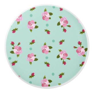 Cherry Tree Blossom Ceramic Knob