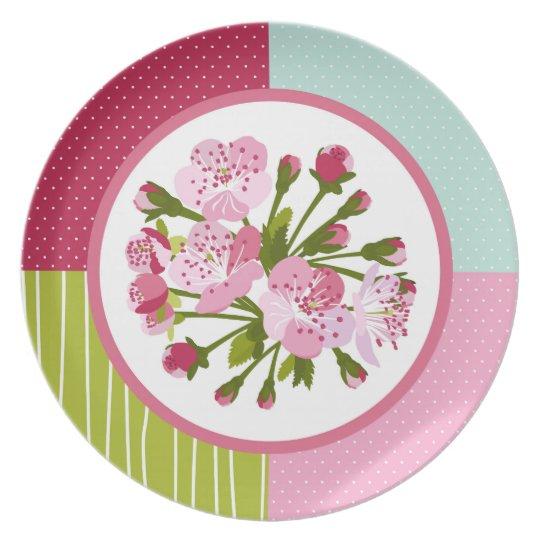 Cherry Tree Blossom Plate
