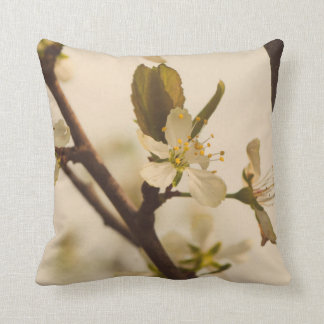 Cherry tree blossoms cushion