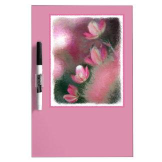 Cherry Tree Blossoms - Original Art Dry Erase Board