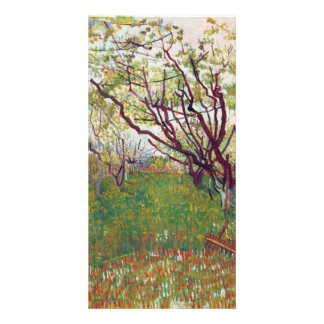 Cherry Tree by Vincent van Gogh Photo Card Template