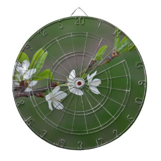 Cherry tree flowers dartboard