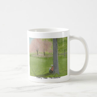 Cherry Trees - The Sketcher Coffee Mug