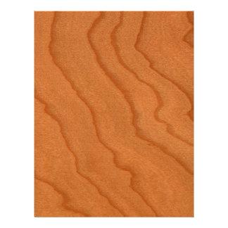 Cherry Wood Look Fine Grain 21.5 Cm X 28 Cm Flyer
