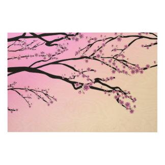 Cherry Wood Wall Art