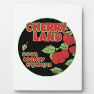 Cherryland Door County Wisconsin Plaque