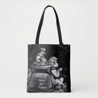 Cherub and the Mice- A kiss to heaven Tote Bag