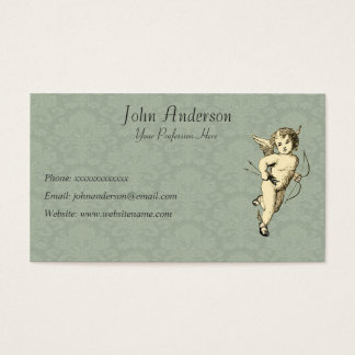 Cherub and Wallpaper Business Card