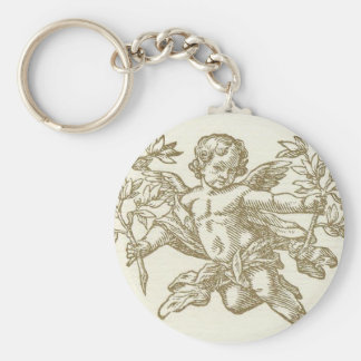 Cherub Angel (cream) Keychain