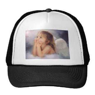 Cherub Angel Trucker Hats