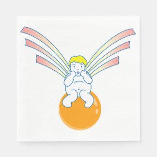 Cherub Angel Paper Napkins Disposable Napkin