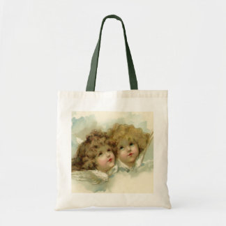 Cherub Angels Tote Bags