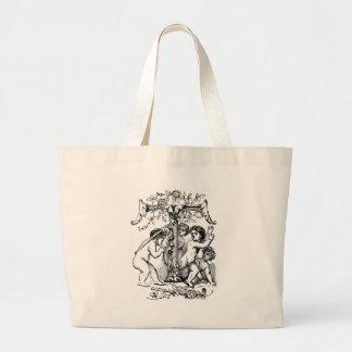 cherub-clip-art-7 tote bags