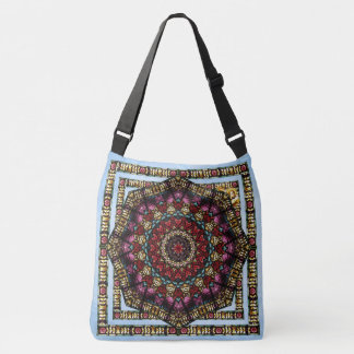 Cherub Glass Window Kaleidoscope Bag