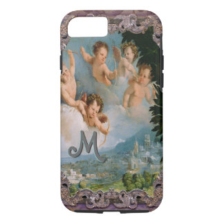 Cherub Love Pours Over the City iPhone 8/7 Case