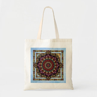 Cherub Window Kaleidoscope Art Tote Bag