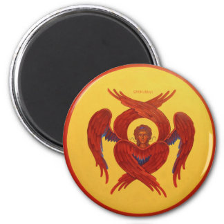 Cherubim magnet orthodox icon