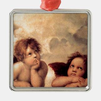 Cherubim - Raphael Metal Ornament