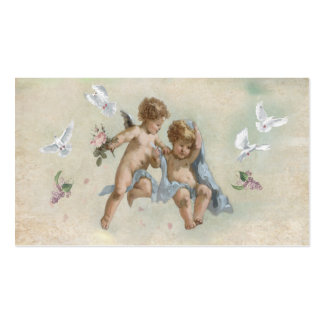 Cherubs and Doves Double-Sided Standard Business Cards (Pack Of 100)