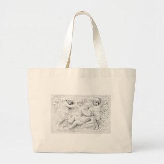 Cherubs Large Tote Bag