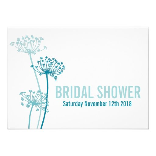 Chervil modern graphic bridal shower invitation