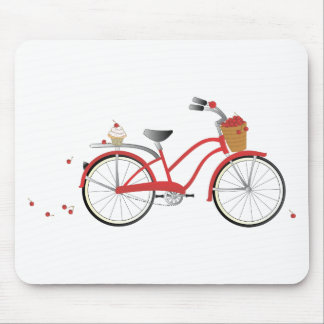 Chery Cherry Bicycle Mouse Pad