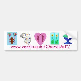 CherylsArt* bumper sticker