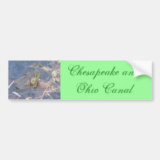 Chesapeak and Ohio Canal Bumper Sticker