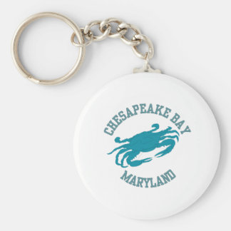 Chesapeake Bay  Blue Crab Key Ring