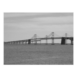 Chesapeake Bay Bridge Poster