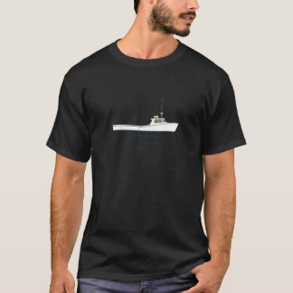 Chesapeake Bay Deadrise Boat (titled) T-Shirt