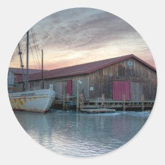 Chesapeake Bay Maritime Museum Classic Round Sticker